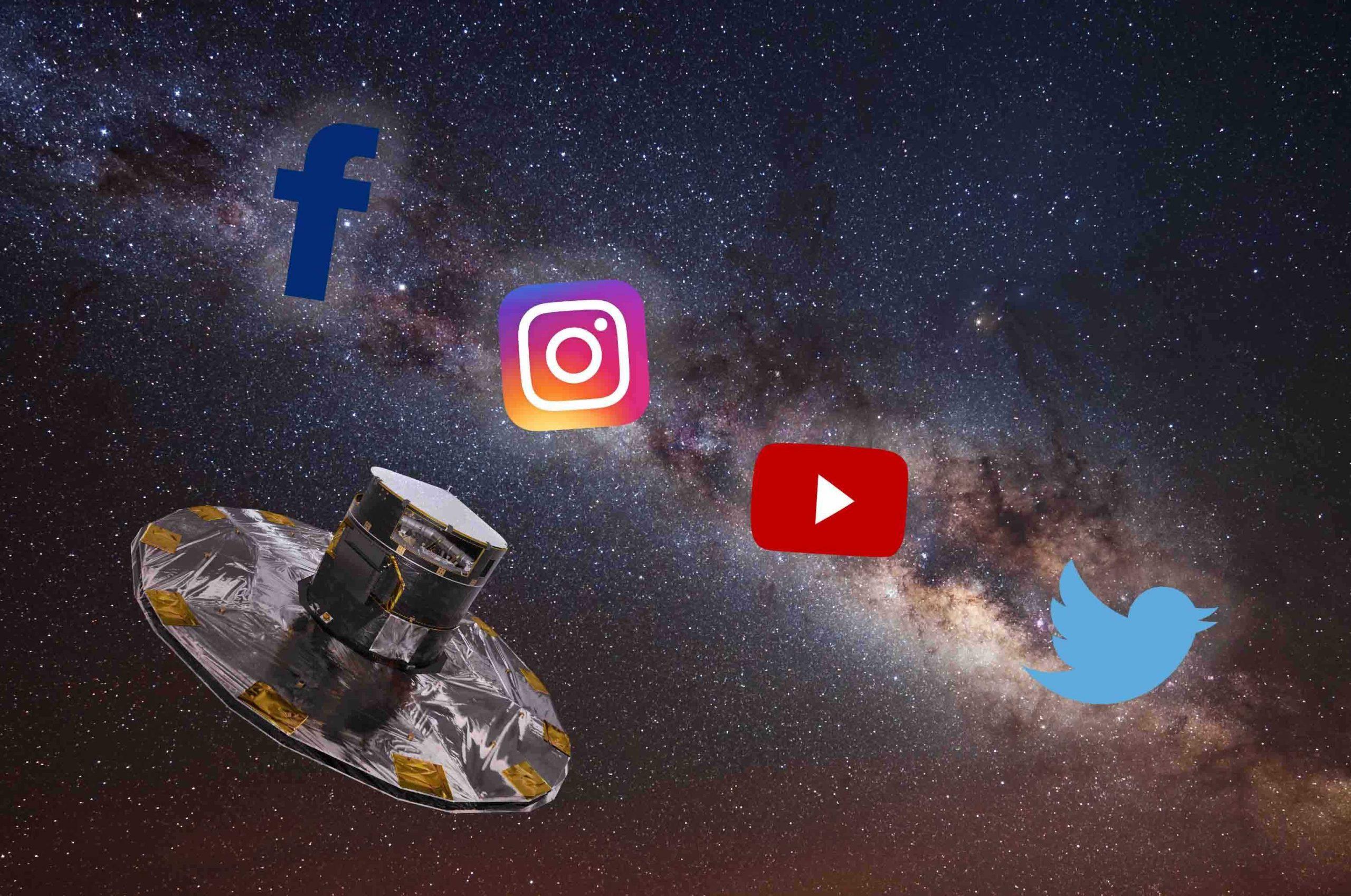 Le agenzie spaziali governative più attive nell'universo… social