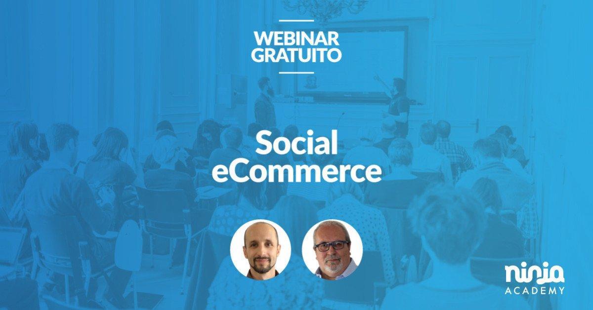 free masterclass social ecommerce per aumentare le vendite online