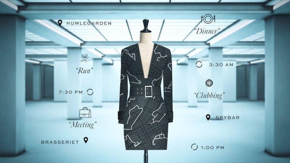 """Grazie al Data Dress progettato da Google e H&M, mai più """"Non ho niente da mettermi"""""""
