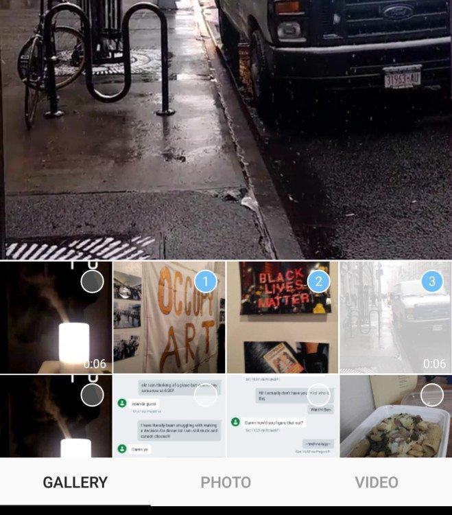 instagram album fotografici