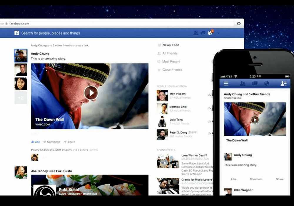 Video su Facebook