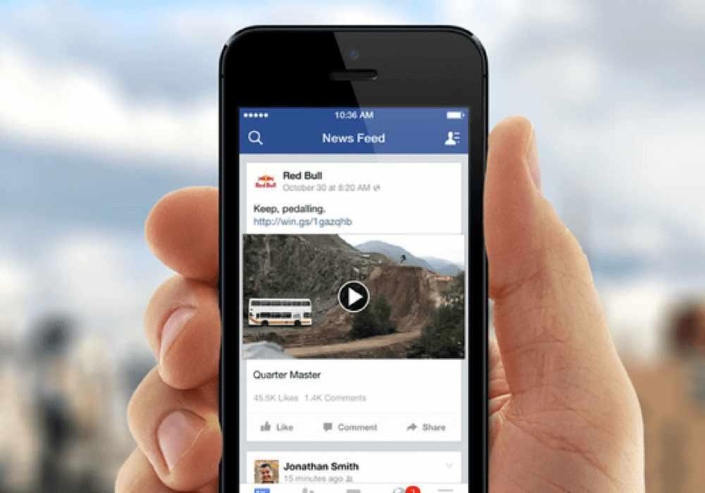 video content su Facebook
