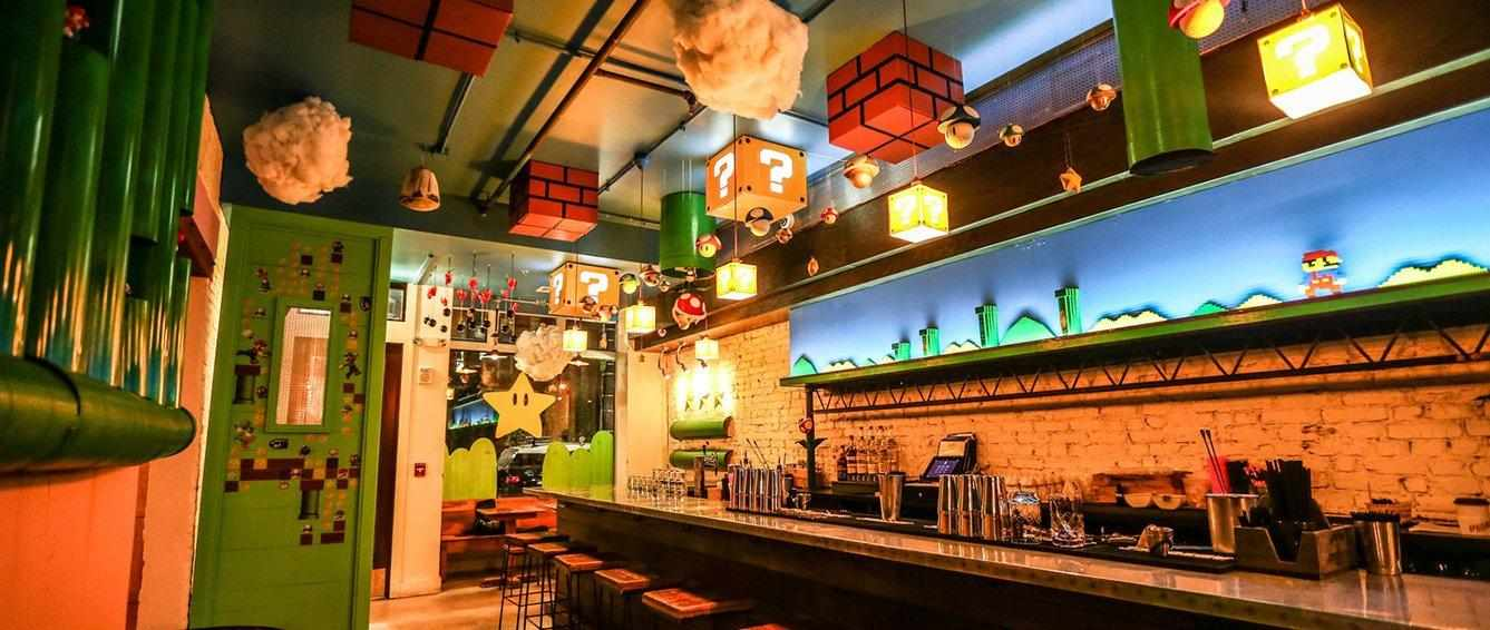 Super Mario Bros, il videogame diventa un bar a Washington DC