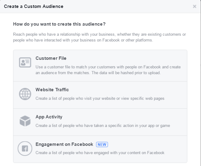 custom-audience-Facebook-AD