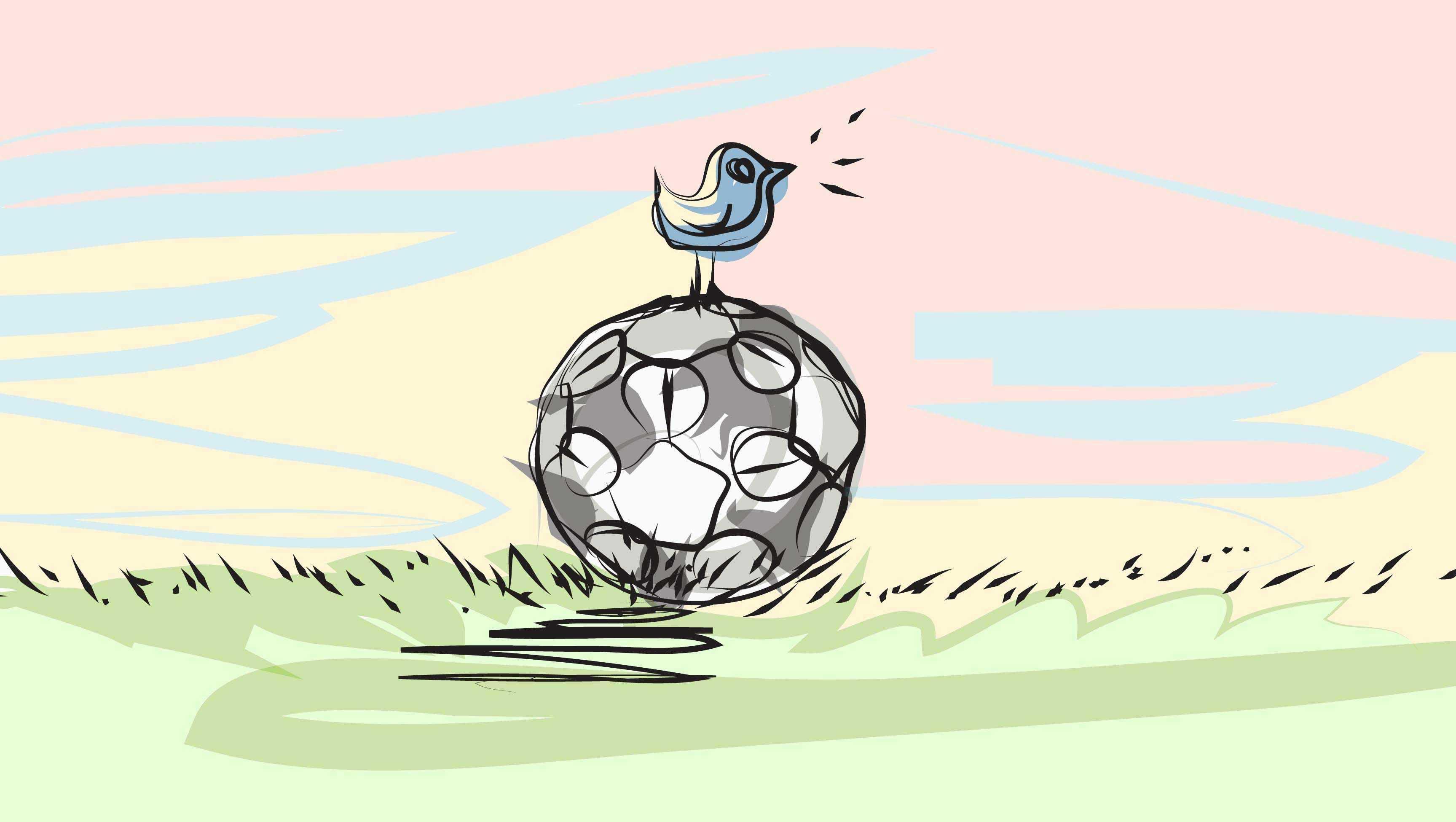 Serie A: la classifica sui social network