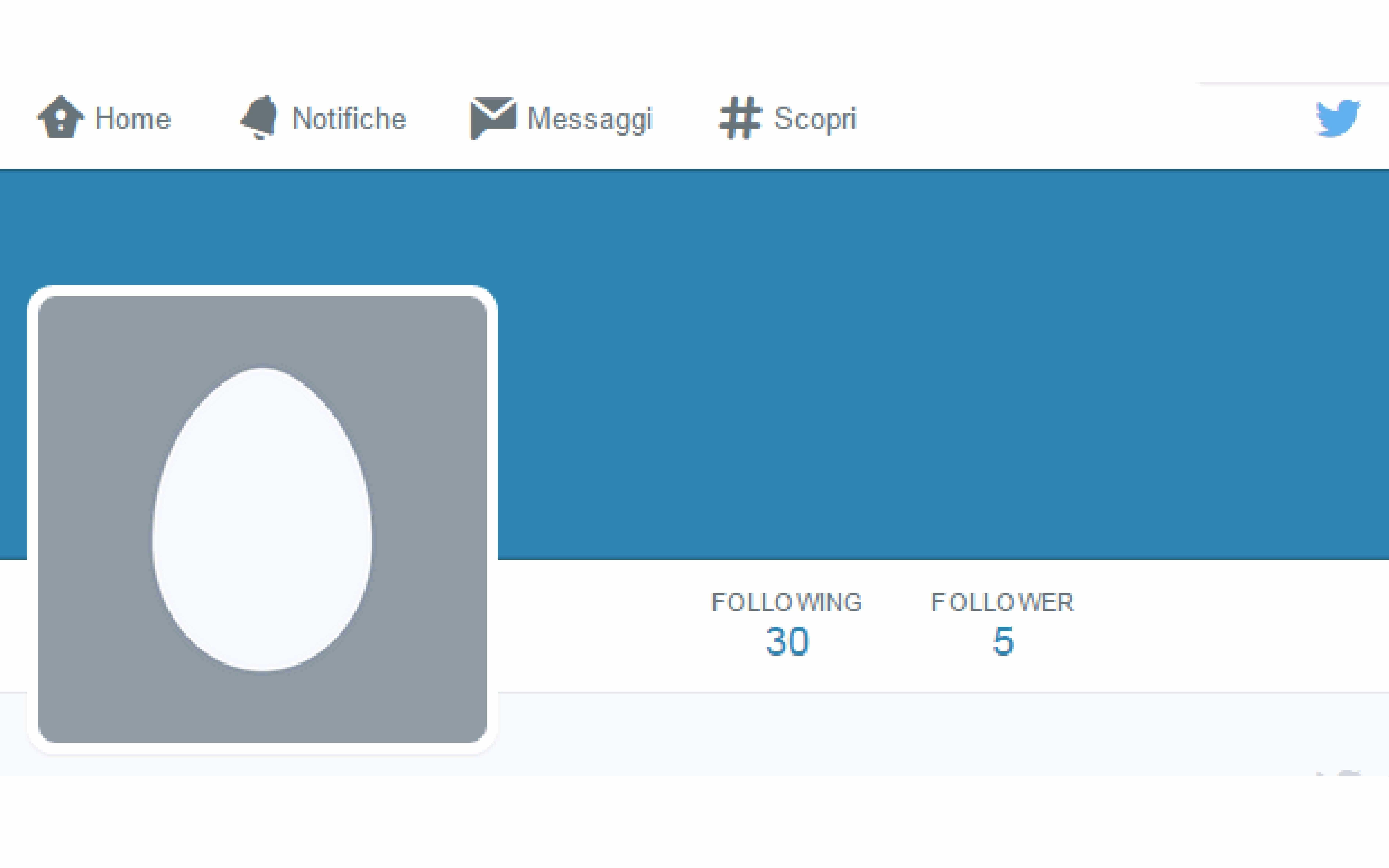 Twitter cancella gli account anonimi