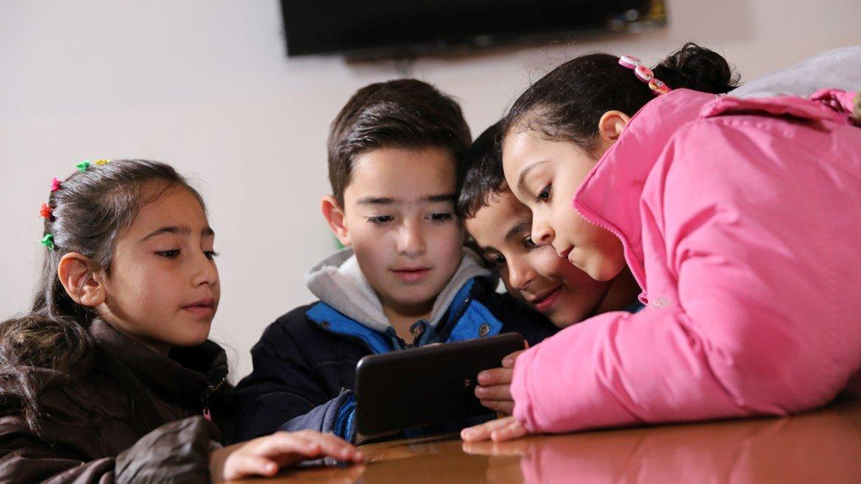 Le app che aiuteranno i bambini siriani ad imparare giocando