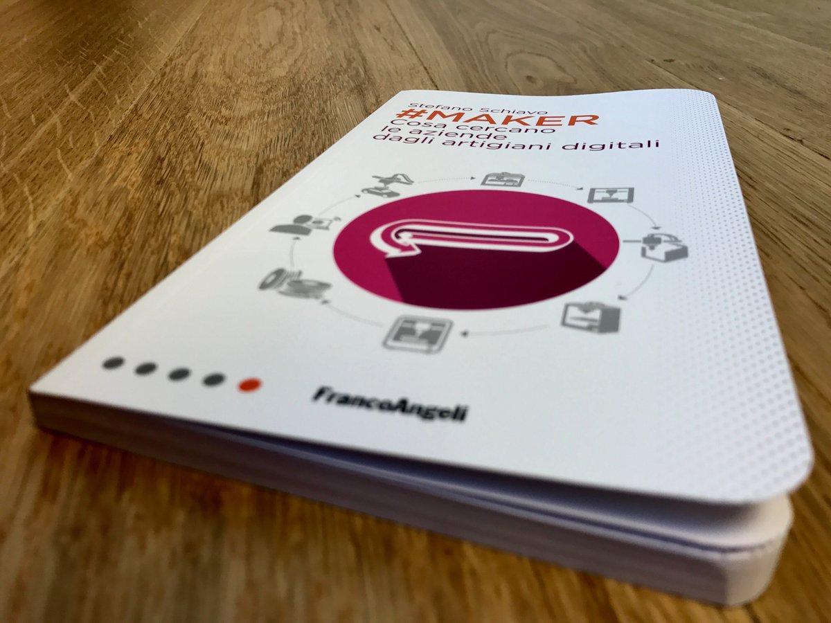 Maker, un libro dedicato ai campi più innovativi e al futuro della fabbricazione digitale