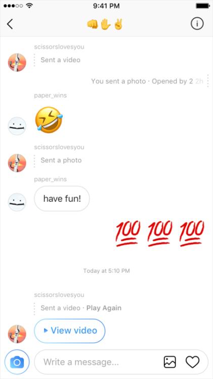 novità instagram direct