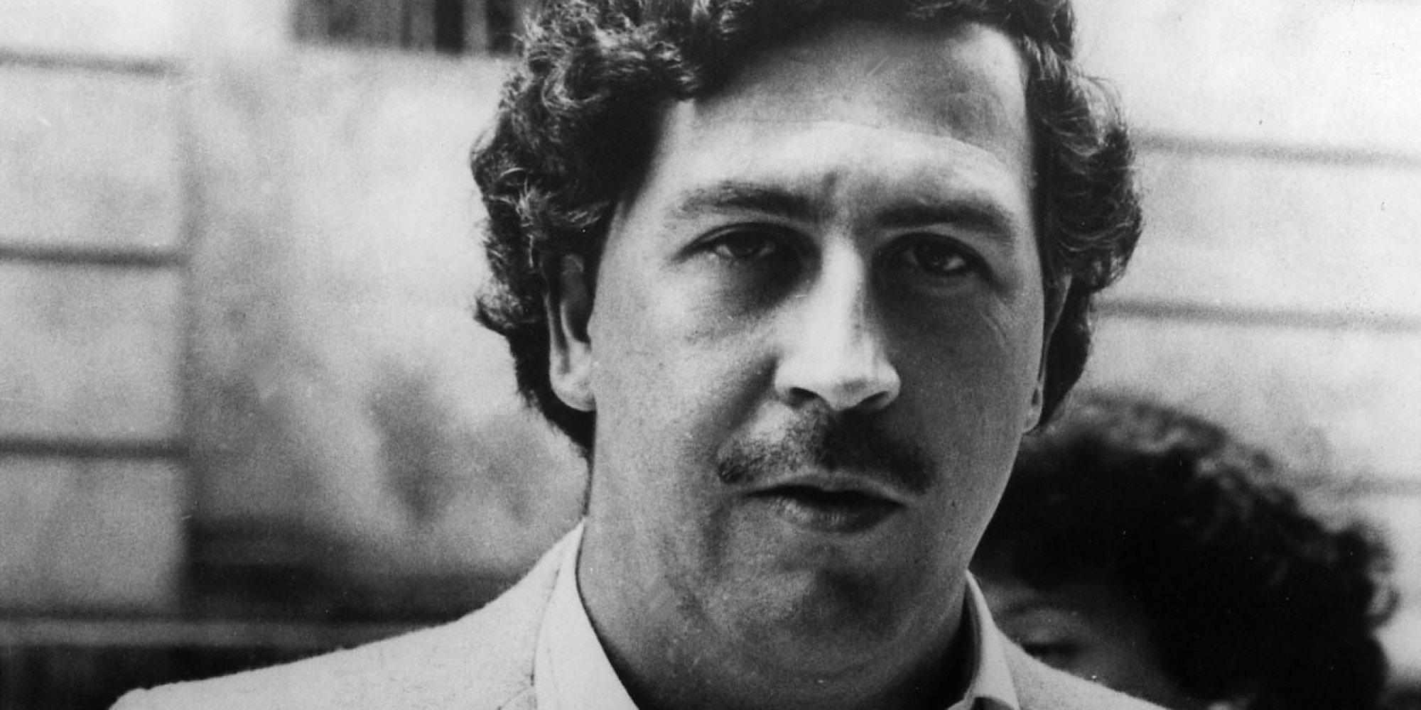 Pablo Escobar Gaviria - Identified as one of Colombia's leading cocaine traffickers. he dropped from sight in 1984 in the midst of a U.S.Colombian anti-drug crackdown. The U.S. government requested hois extradition, if caught, to face trafficking charges in the United States. Escobar, in his mid-30s, had financed housing and other improvements for poor neighborhoods of his hometown, the city of Medellin. (AP-Photo) 1984