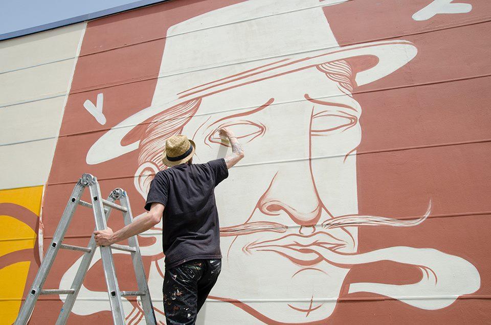La street art di SeaCreative racconta il gusto della Birra D'Ambrosia