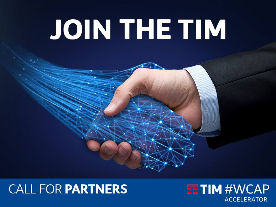 TIM #WCap Call for Partners