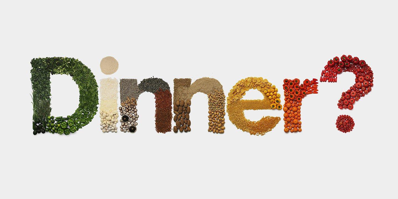 Dinner word in Pinterest lens blog