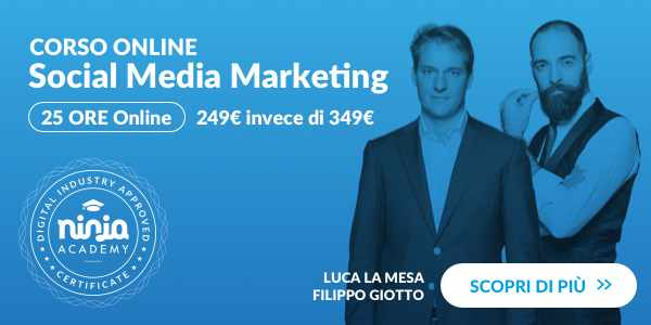 Corso Social Media by Ninja Academy