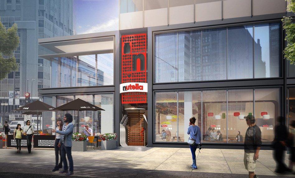 Apre a Chicago il primo Nutella Café al mondo