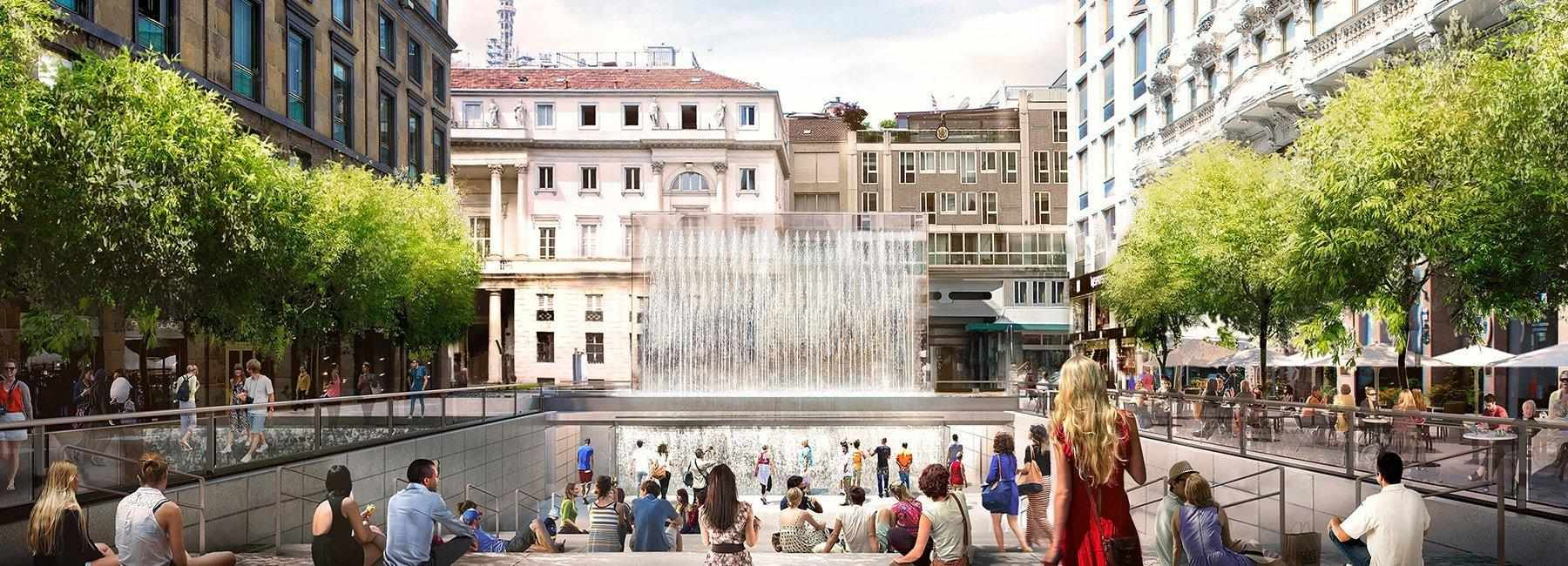 Nuovo Apple Store a Milano: da negozio a spazio pubblico creativo