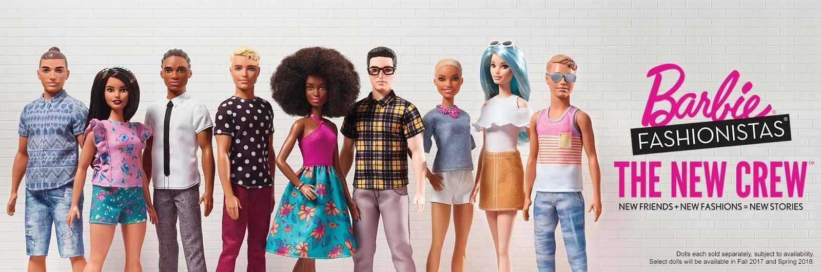 Ken cambia look: ecco il restyling del fidanzato di Barbie