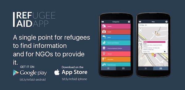 Refugee Aid App: nuove speranze all'interno di un'app