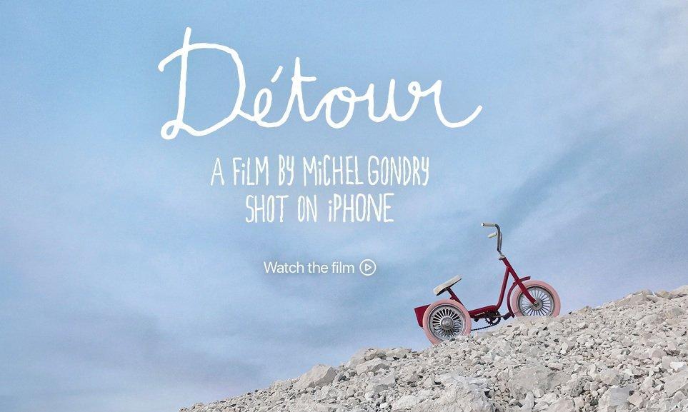 Michel Gondry presenta il suo primo film interamente realizzato con l'iPhone 7
