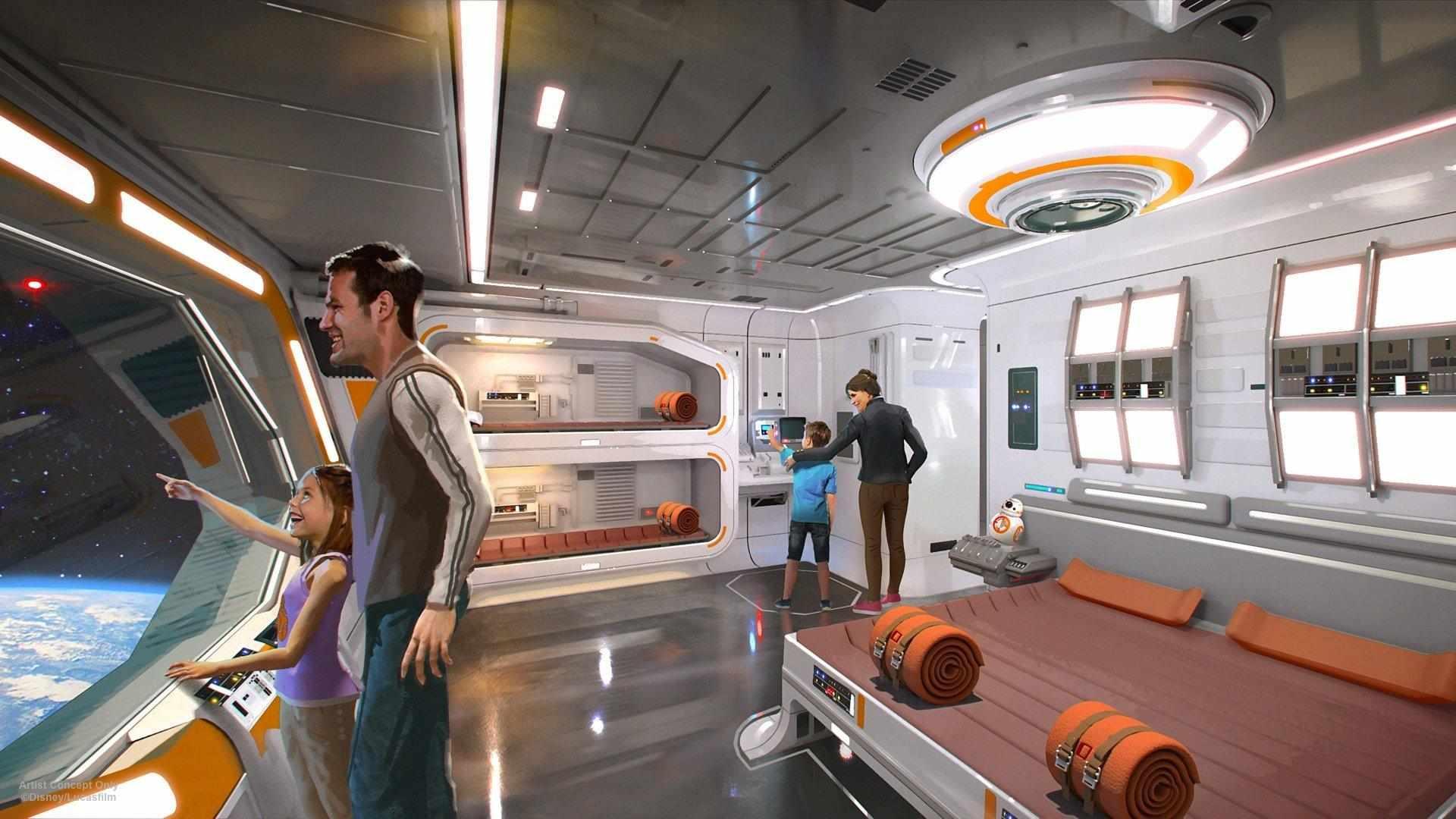Disney realizzerà il primo Star Wars hotel a Orlando