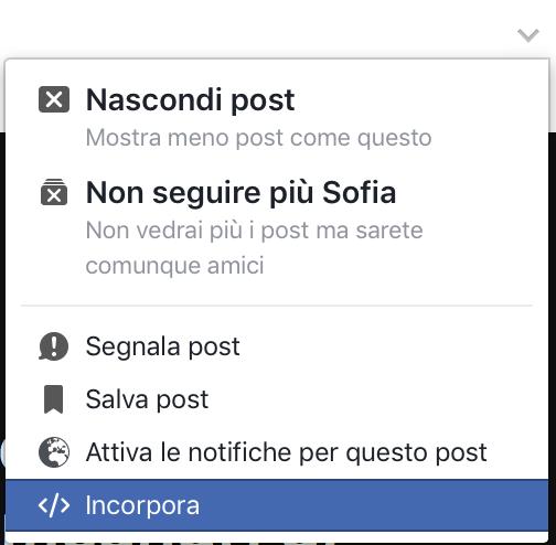 le impostazioni nascoste di facebook