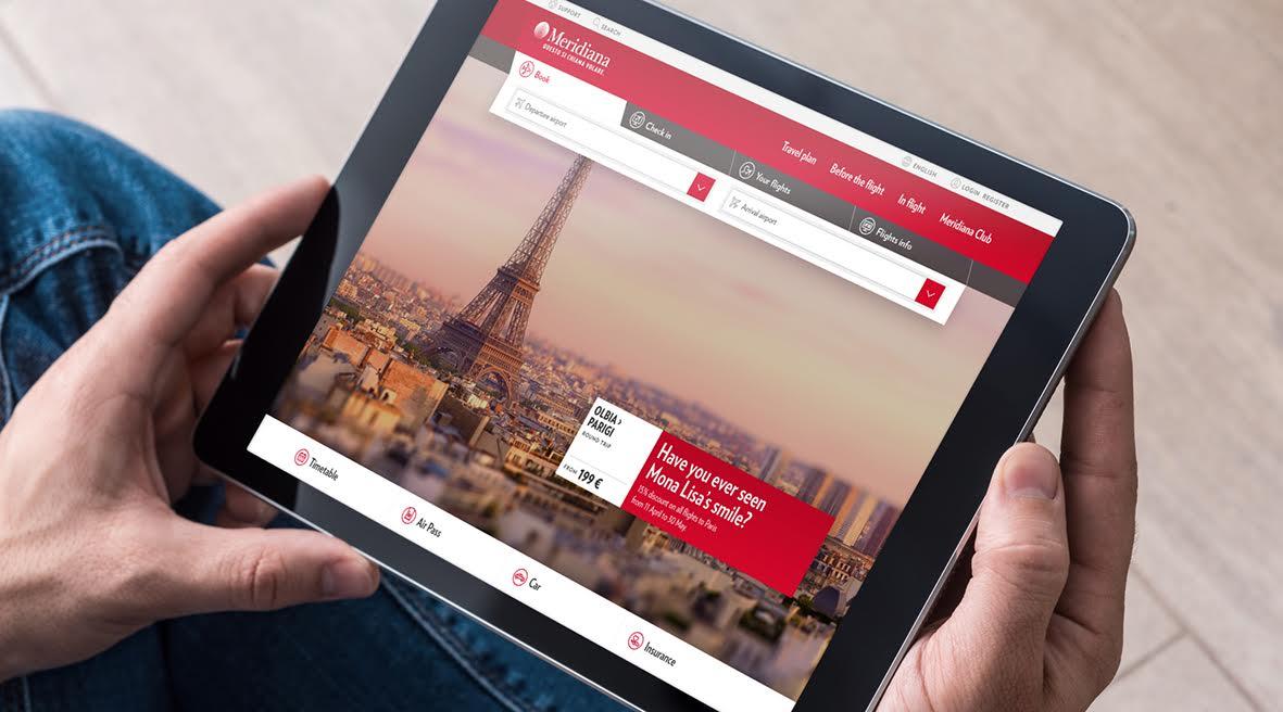 Meridiana: restyling a tutto Digital per il nuovo posizionamento della compagnia aerea