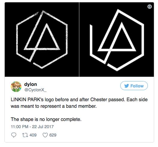 I Linkin Park ricordano Chester Bennington con un nuovo logo