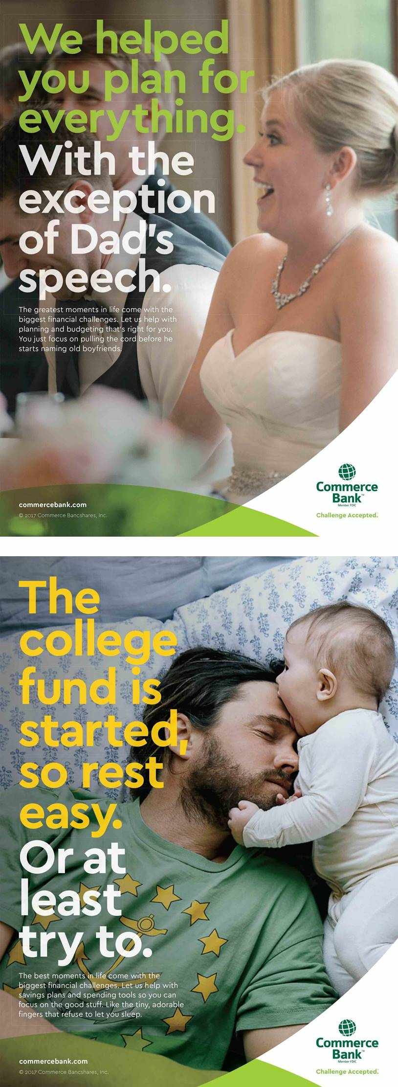 commerce bank pubblicità