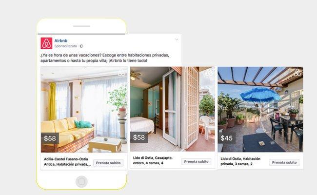 Cosa sono le inserzioni dinamiche per i viaggi di Facebook