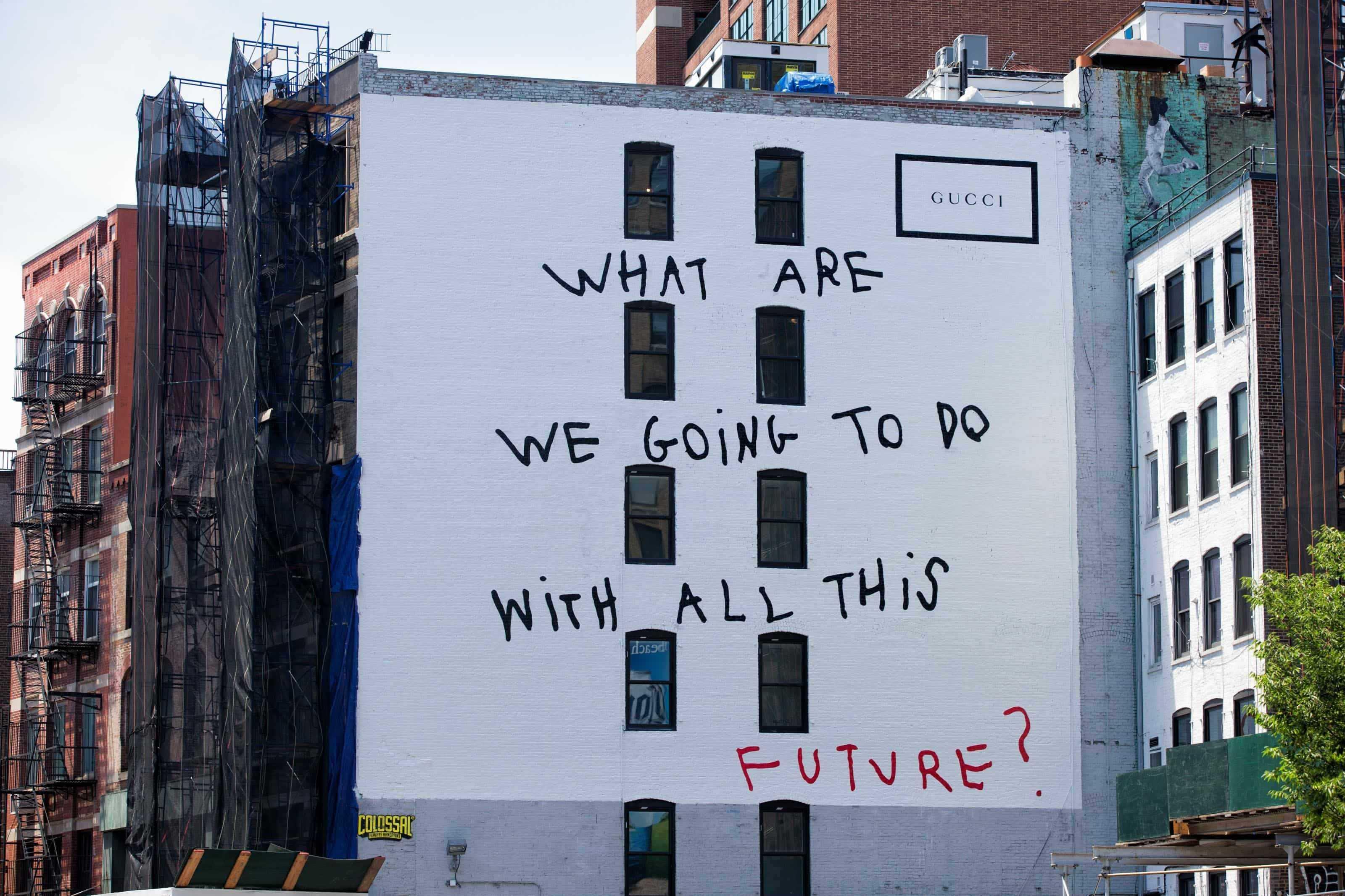 Gucci e street art: ecco la capsule collection con Coco Capitán