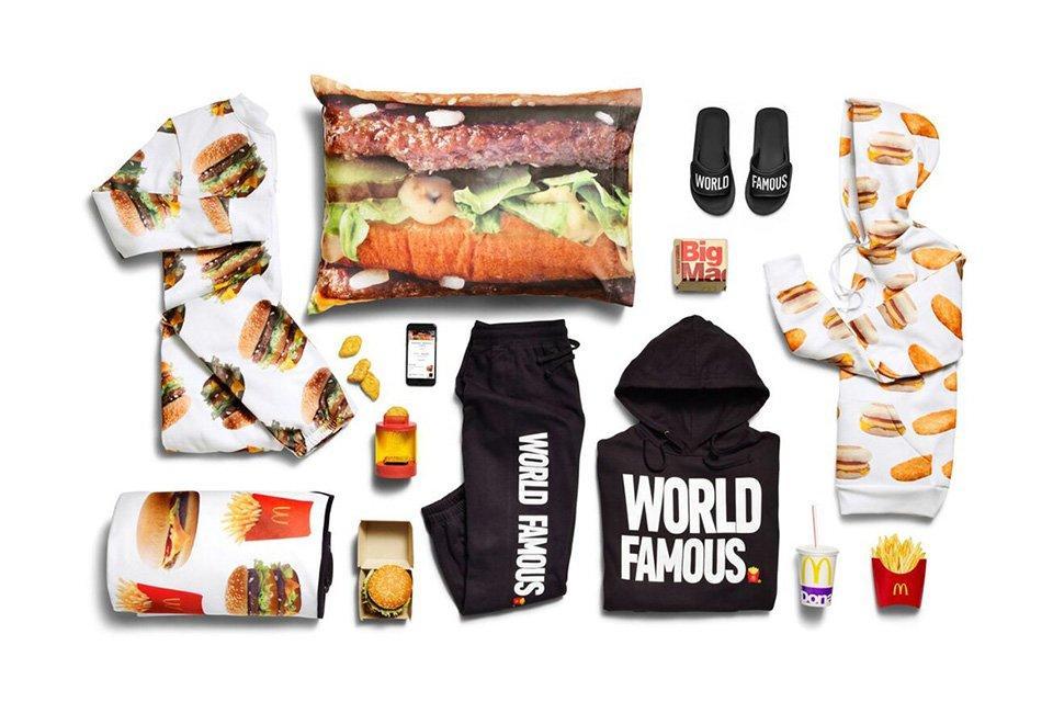 Perché McDonald's ha appena lanciato una linea di vestiti?