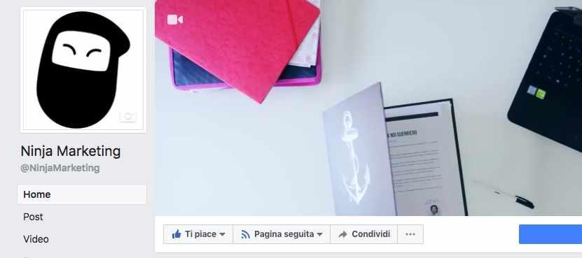 Come Creare Una Video Copertina Per La Tua Pagina Facebook Ninja La Piattaforma Italiana Per La Digital Economy