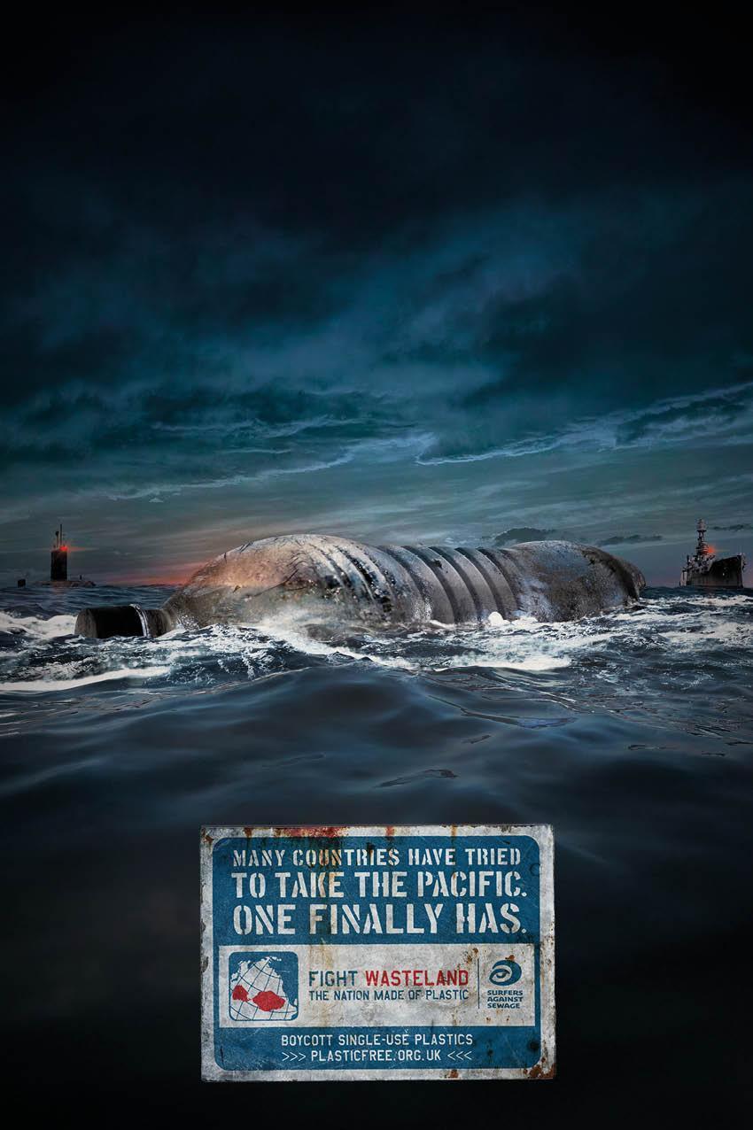 migliori annunci stampa surfers against seawage