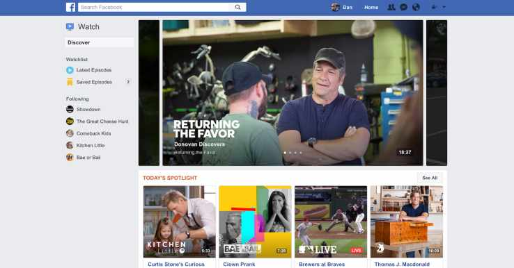 Facebook lancia Watch Tab: la nuova feature che reinventa l'esperienza video