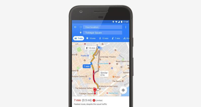 La feature di Google Maps per aiutarti a parcheggiare arriva anche a Roma e Milano