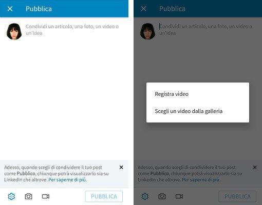 Video nativi su LinkedIn. Come usarli