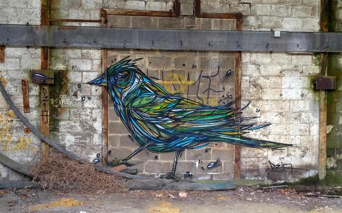 La street art di Dzia incontra l'energia dello streetwear