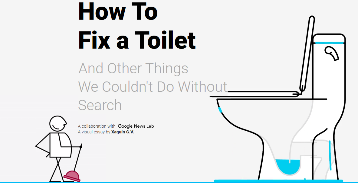 How to fix a toilet di google lab news