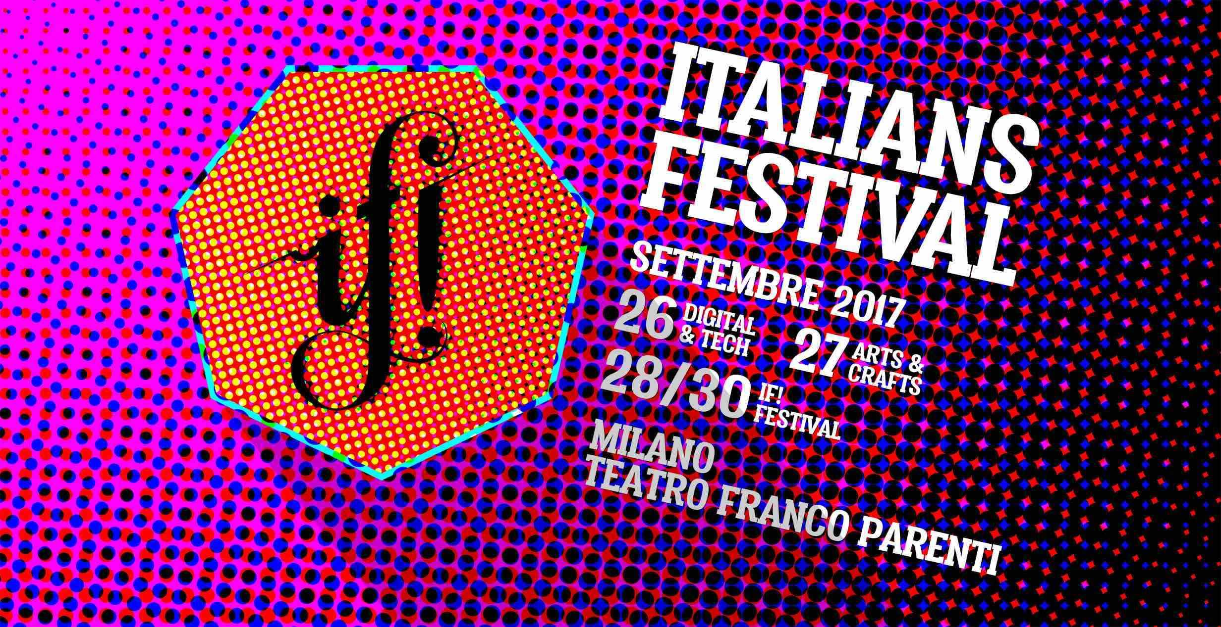 9 panel da non perdere a IF! Italians Festival