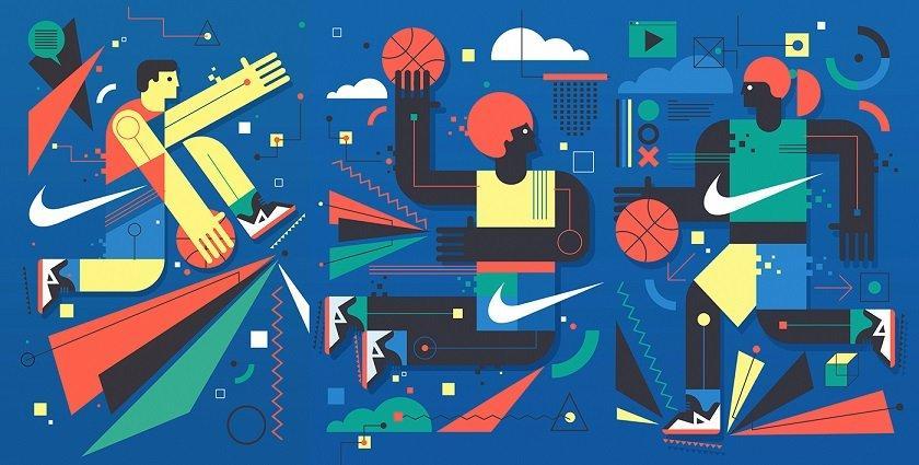 Neil Stevens e Nike, un murales nella città di Barcellona