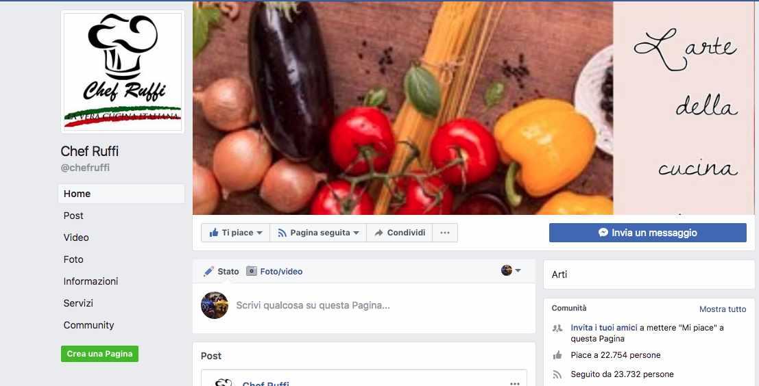 Italiani, social network e cibo: la sindrome dello Chef Ruffi