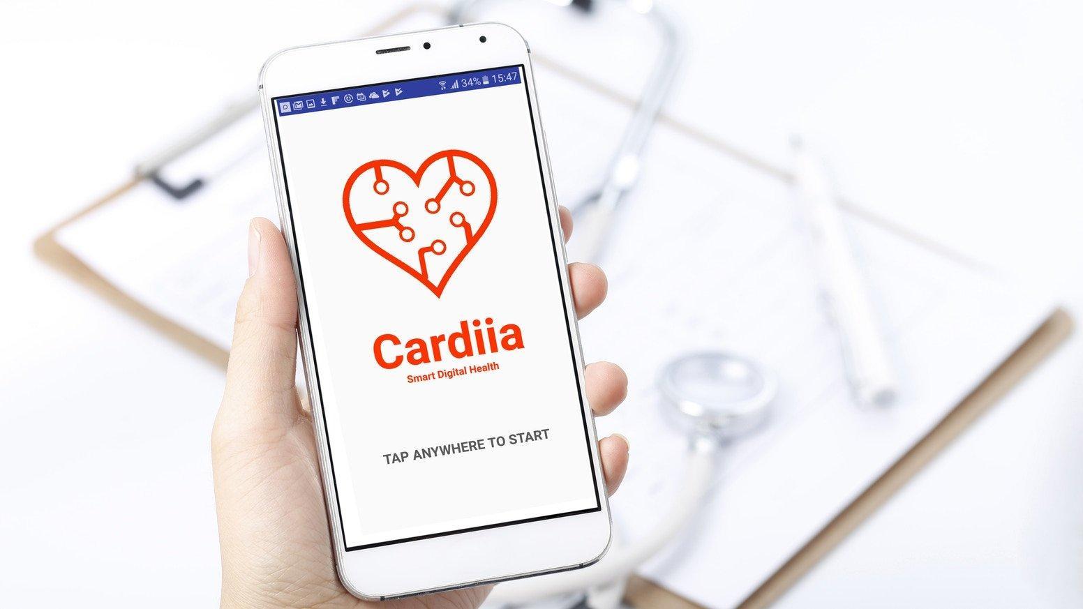 Cardiia, un'app che fa bene al cuore