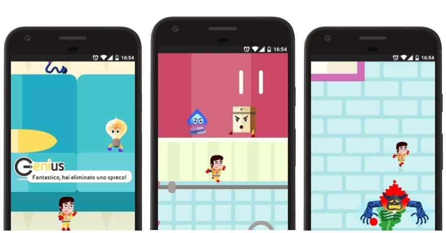 Genius game, l'app per imparare a risparmiare gas e luce
