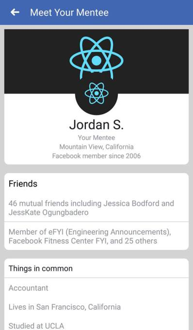 facebook mentoring