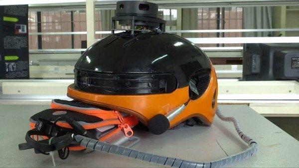 eye see casco ipovedenti tecnologia