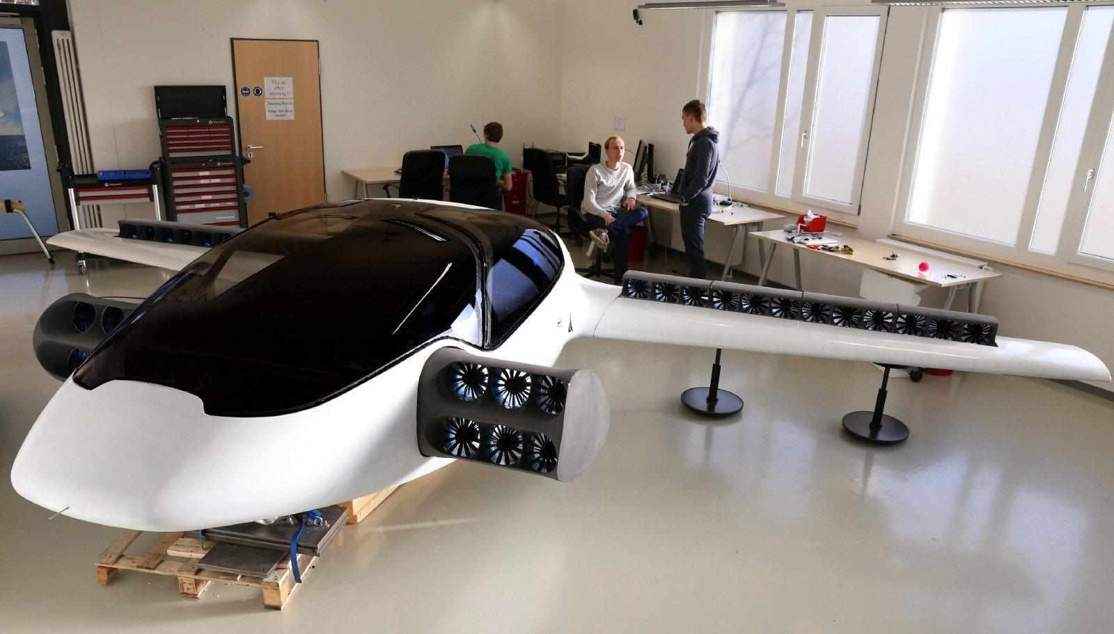 I taxi volanti di Lilium raccolgono un investimento da 90 milioni di dollari