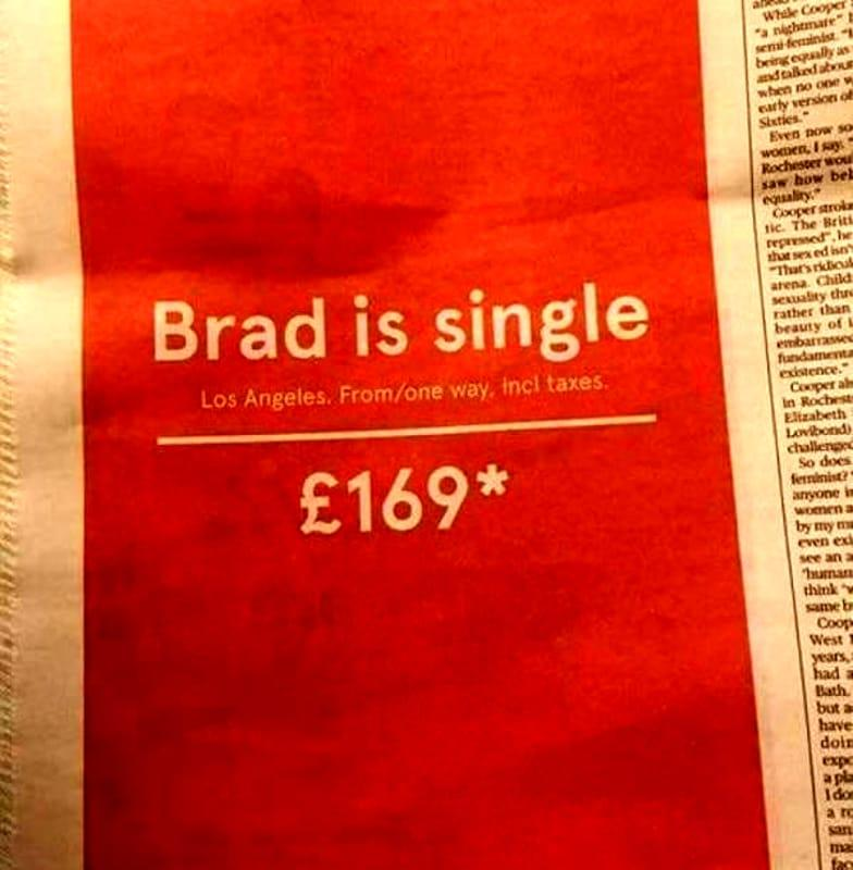 real_time_marketing_norwegian_air_brad_pitt_is_single