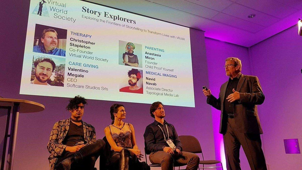 AWE 2017 europe AR virtual world society