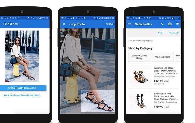 Ebay come Amazon: adesso scatti la foto a cosa vuoi comprare