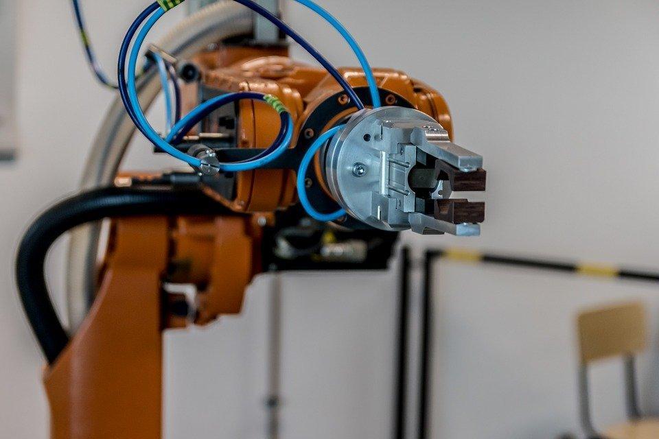 braccio robotico - industria 4.0